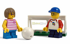 LEGO® City Kinder Figur Junge Mädchen Fussball Spielplatz kurze Beine NEU 60134