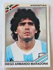 PANINI Soccer Sticker Card #171 DIEGO MARADONA MEXICO 86 World Cup Story 1990