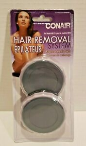 CONAIR HAIR REMOVAL SYSTEM 2 REPLACEMENT PADS Model HB1C