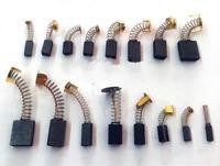 Pair 2 Pcs Carbon Brushes motor brush Repairing Part for Generic Electric Motor