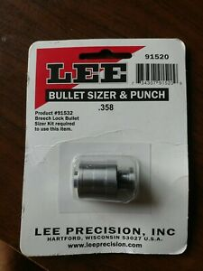 LEE Bullet Sizer and Punch .358