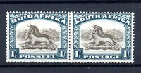 South Africa 1932 1/- grey brown & blue LHM Upright WMK SG48 WS17795
