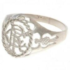 Official RANGERS FC Sterling Silver Crest RING
