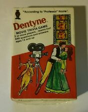 Professor Hoyle Pocket Trivia Game - DENTYNE Movie Trivia -New in Sealed Package