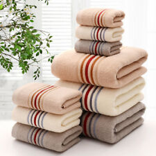 Towel set 3pcs Bath Towel Super Soft Pure Cotton Hand Bath Beach Face towels A++