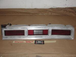 OEM 74 Chevy Impala RIGHT PASSENGER SIDE TAIL LIGHT LENS BEZEL TRIM