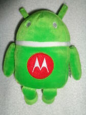 Robot Green stuffed plush beanbag Red Motorola M Android Droid Cell Phone RARE