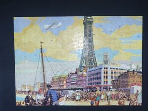 VINTAGE Good Companion Jigsaw Puzzle  400 pieces The Tower Blackpool COMPLETE
