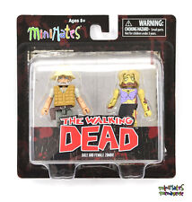 Walking Dead Minimates Series 1 Female Zombie & Dale