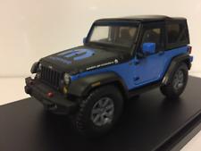 """Jeep Wrangler"""" Mopar """"2010 Azul/negro coche modelo 1 43 / Greenlight"""