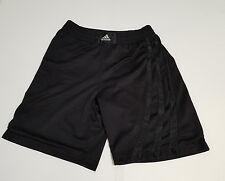 VTG Adidas Black Soccer Boxing Basketball Shorts Sz Medium Vintage Tre Foil 90s