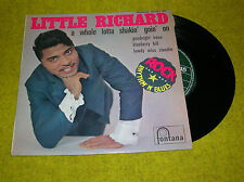 French EP LITTLE RICHARD - A WHOLE LOTTASHAKIN' GOIN' on - fontana 469.801
