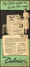 1951 Vintage ad for Caloric Gas Ranges (021713)