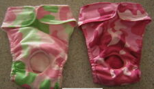 2 Pk Camouflage Panty Italian Greyhound Papillon Chinese Crested 2 Dog Diaper