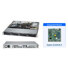 *NEW* SuperMicro SYS-5018D-MTF 1U Black SuperServer with X10SLM-F Motherboard
