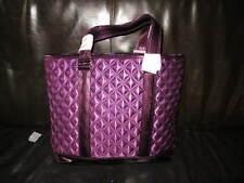AUTH NEW MARC JACOBS QUILT SATIN PINK TOTEBAG
