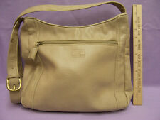 Portland Leather Shoulder Strap  Bag Purse HandbagTan Taupe Beige