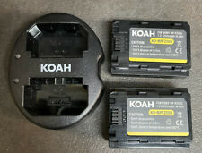 Batteries for Sony NP-FZ100  A7 III, A7R III, A7R IV, A9 Mirrorless Cameras
