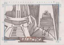 "Complete Battlestar Galactica - John Czop ""Cylon & Imperious Leader"" Sketch Card"