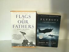 Flyboys Flags of Our Fathers James Bradley World War II paperback book lot