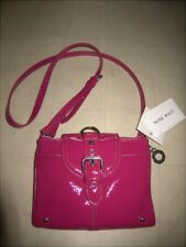 NINE WEST Can't  Stop Shopper Crossbody Bag Red  -  NWT