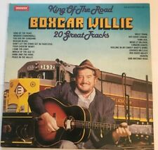 "Boxcar Willie ‎– ""King Of The Road - 20 Great Tracks"" vinyl LP (1980) EX / LPS5"