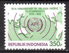 Indonesia - 1989 10 years Asia-pacific telecommunity - Mi. 1301 MNH