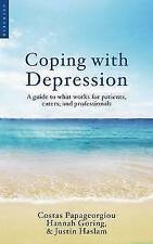 Coping with Depression: A Guide to What Works for Patients, Careers,-ExLibrary