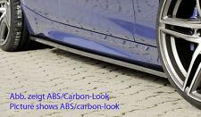 Rieger Seitenschwelleransatz in schwarz glänzend für BMW 1er F20 mit M-Paket