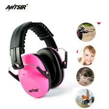 Pink Sound Insulation Head Earmuffs Hunting Sport Ear Muffs Ears Protection