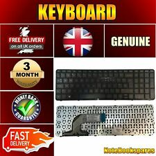 Replacement 15-D056SR Laptop Notebook Black UK Keyboard With Frame