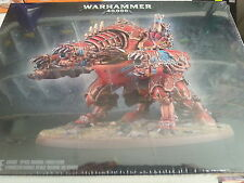 WARHAMMER 40K CHAOS SPACE MARINE FORGEFIEND MAULERFIEND NEW & SEALED