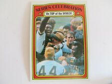 TOPPS 1971 World Series CELEBRATION CARD #230 NICE WITH FREE SHIPPING