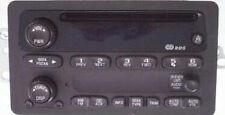 2002-2003 Trailblazer Envoy OEM CD radio. Factory original remanufactured stereo