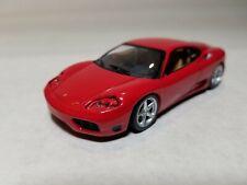 1:43 Scale Ferrari 360 Modena Red Coupe Diecast Model Car