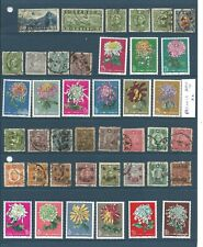 Collection old & Mao China Chine Dragon Peaonia Peonia block 5 pages see scans !