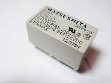 Relais 12V 1xEIN 1xAUS 250V 5A 30V 5A MATSUSHITA DSP1-DC12V Gold#20R38#