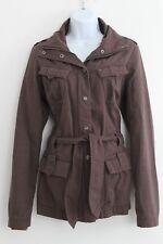 TOMMY HILFIGER Denim Womens Jacket Size UK 14 M Medium Brown
