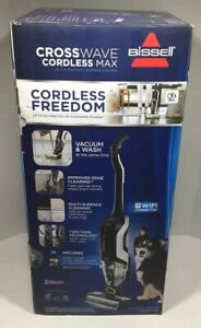 BISSELL CROSSWAVE CORDLESS MAX ALL-IN-ONE MULTI-SURFACE VACUUM CLEANER-(EBT4)
