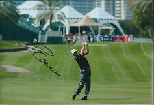 Paul LAWRIE SIGNED Autograph 12x8 Photo AFTAL COA Dubai Desert Classic Golf