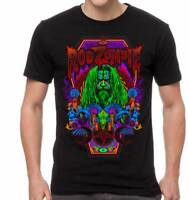 Rob Zombie Necro Color Industrial Heavy Metal Hard Rock Music T Shirt RZB10146