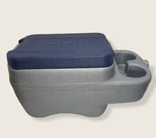 New listing Vintage Car Serv by Bee Car Truck Auto Console Cooler Cup Holder Gray Blue