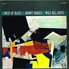 JOHNNY HODGES & WILD BILL DAVIS mess of blues U.S. VERVE LP_ORIG 1964 V6-8570