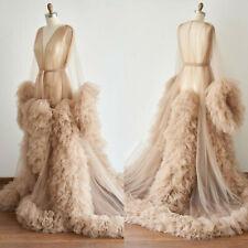 Women's Robe Nightgown Bathrobe Sleepwear Bridal Wedding Photograph Photo Shoot