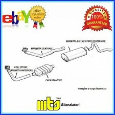 04.3706 MTS CATALIZZATORE SMART Fortwo 0.8D
