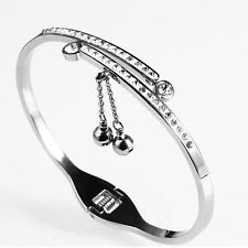 316L Stainless Steel BlingBling Bangle w Swarovski Element Crystal