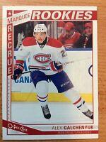 O-Pee-Chee 2013-2014 ALEX GALCHENYUK ROOKIE HOCKEY CARD #575 MONTREAL CANADIENS