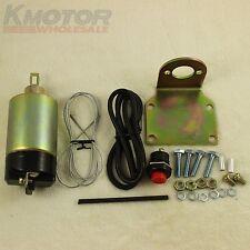 50lb solenoid shaved door kit popper Kit hot rod rat rod complete Brand New