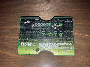 Roland SR-JV80-04 VINTAGE SYNTH expansion.
