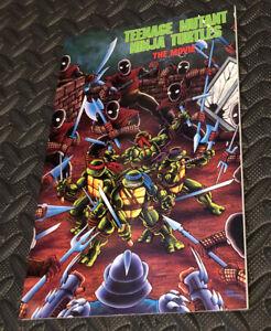 TEENAGE MUTANT NINJA TURTLES THE MOVIE COMIC BOOK ADAPTATION Archie Comics 1990